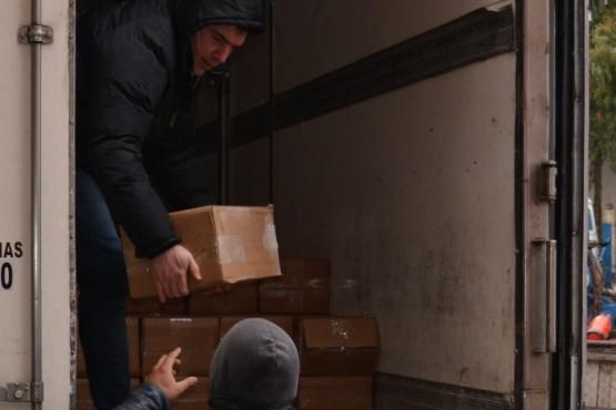 Distribuyen más de 2400 kilos de merluza en municipios del Valle y centros de asistencia social