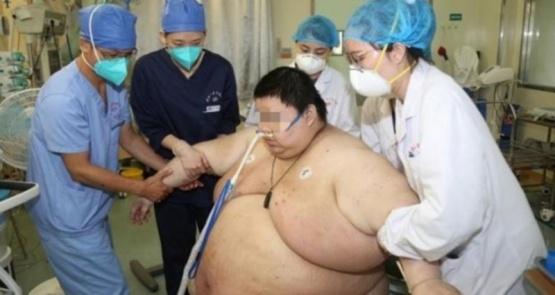 El joven que aumentó 100 kilos durante la cuarentena en Wuhan