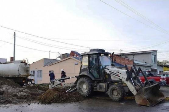 El Municipio promete terminar con la acumulación de hielo