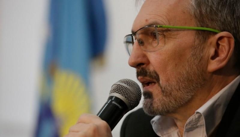 El ministro de Salud, Fabián Puratich.