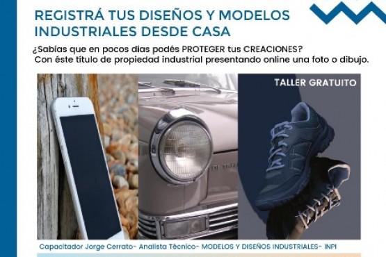 Dictan taller sobre registro online de modelos industriales
