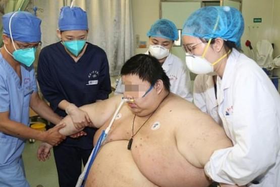 Engordó 100 kilos tras pasar cinco meses en cuarentena