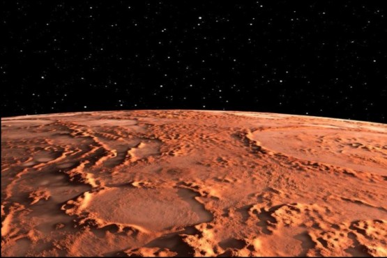 """Captaron un misterioso """"brillo verde"""" en la atmósfera de Marte"""