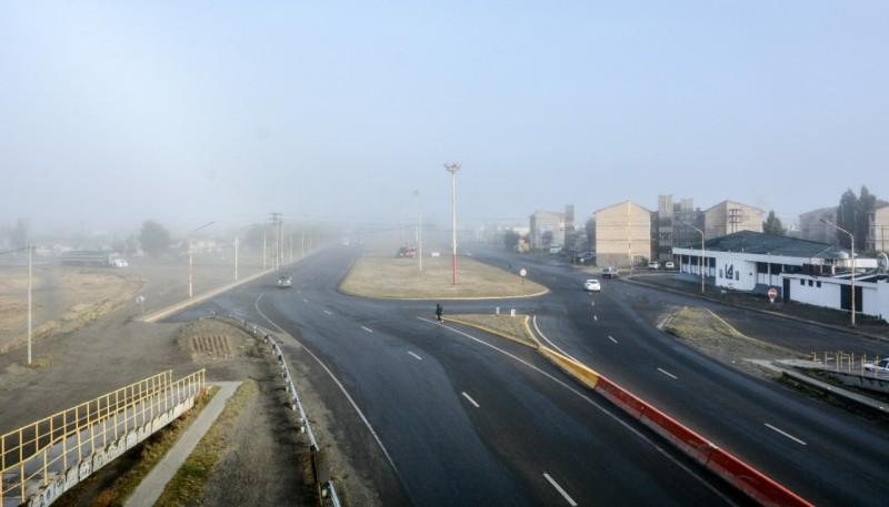 Muy frío en Río Gallegos.