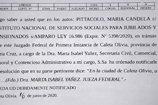 """""""Me echaron sin notificación en plena pandemia""""."""