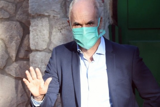 Coronavirus: Horacio Rodríguez Larreta fue testeado y dio negativo