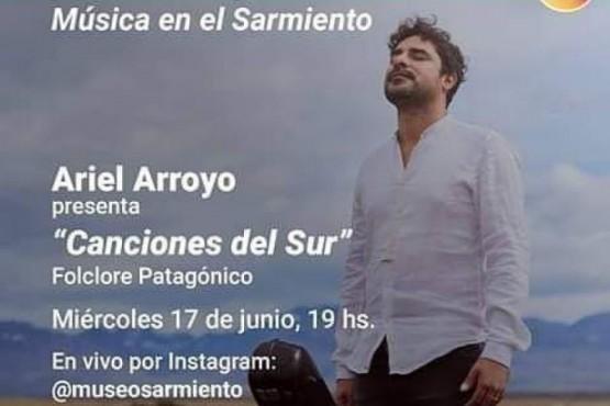 """Ariel Arroyo presenta esta tarde """"Canciones del Sur"""""""