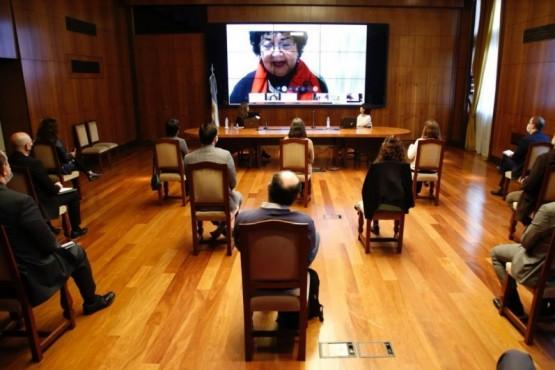 Ministerio de las mujeres, géneros y diversidad realizó capacitación de la Ley Micaela