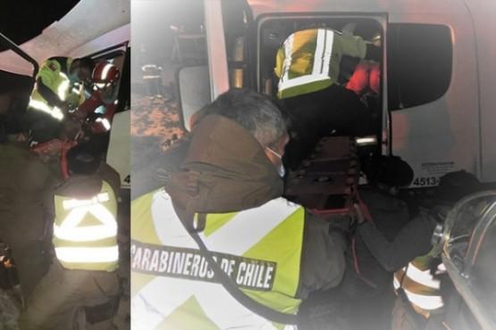 Rescatando al chófer.