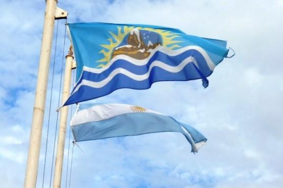 Banderas de Santa Cruz y Argentina (Foto: Daniel Burruni)
