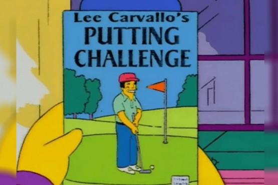 El icónico videojuego de Lee Carvallo que aparece en Los Simpsons se hace real