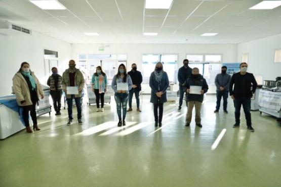 19 familias beneficiadas en el Programa de Fortalecimiento de Emprendedores