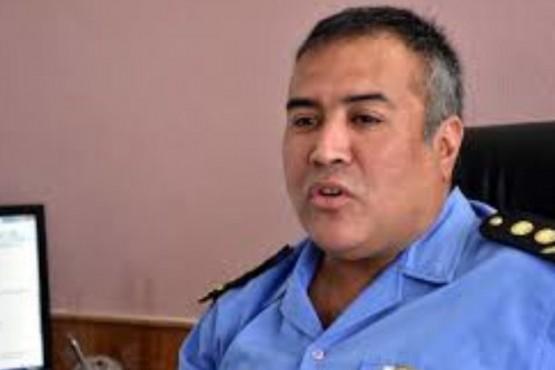 El Jefe de la Unidad Regional de Esquel, Víctor Acosta