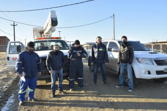 Autoridades de SPSE en el Ayres Argentinos