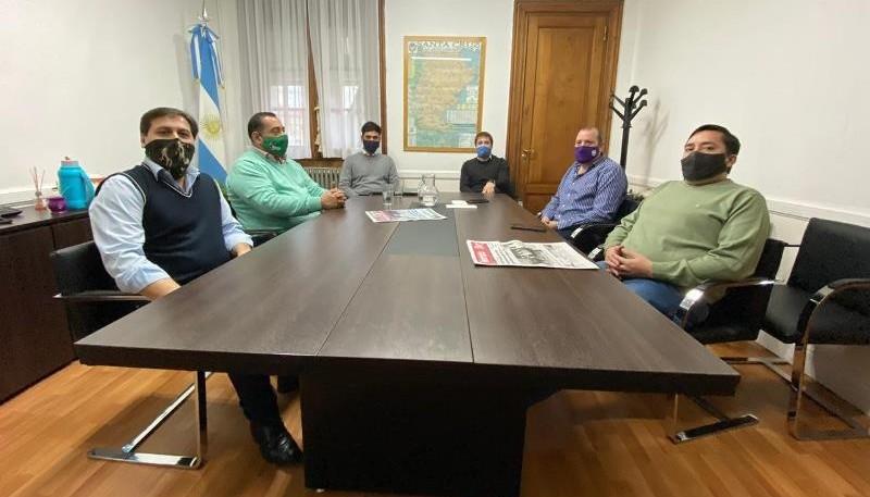 Zuliani ayer con los intendentes. Hablaron de fondos para el SAC y el tema coparticipación.