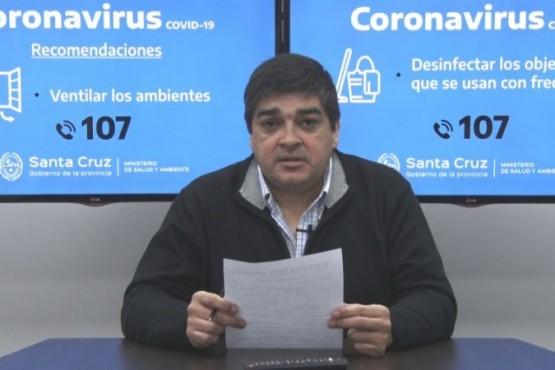 El subsecretario de Salud Colectiva, Claudio García.