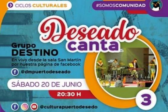 #MúsicaEnCasa: destacaron el ciclo de músicos santacruceños