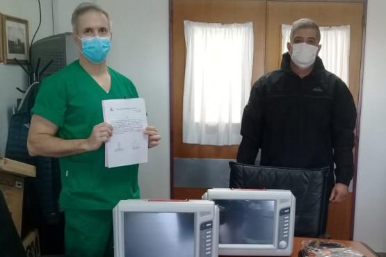 Sinopec realizó la donación de dos monitores multiparamétricos