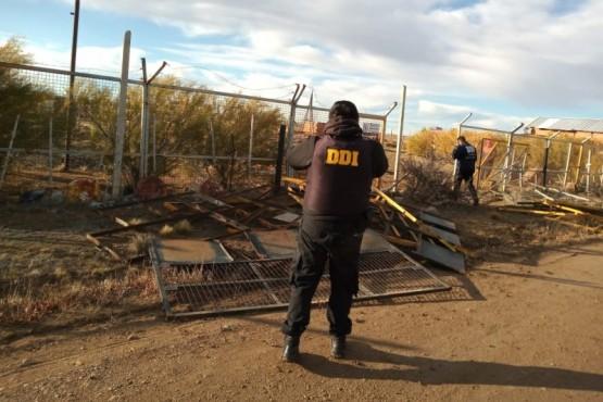 DDI realiza allanamientos por el robo de cercos
