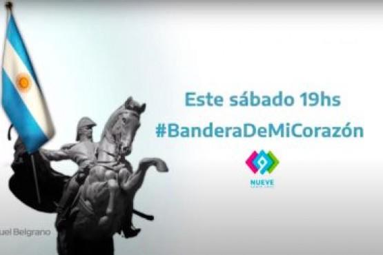 Canal 9 emitirá programa especial por el Día de la Bandera