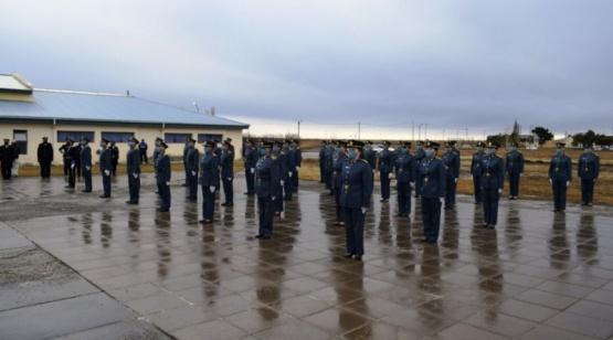 Cadetes de la Escuela de Policía.