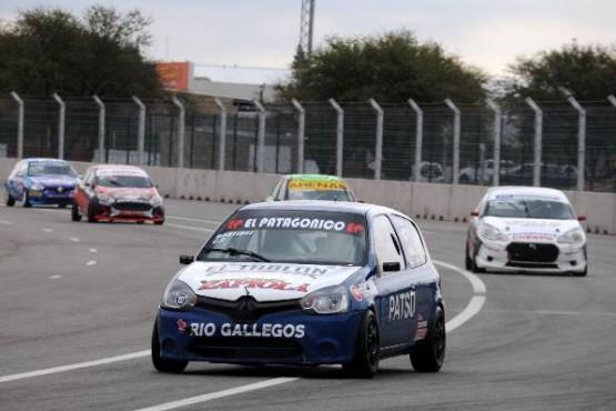 El auto de Martínez, de buena performance en Alta Gracia.