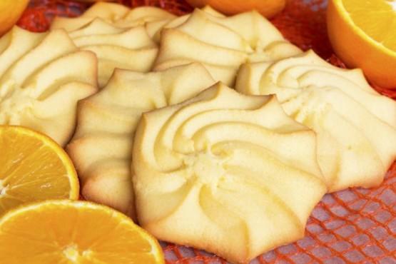 Cómo hacer cookies de naranja