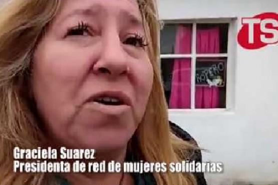 Después del incendio, el comedor de la Red de Mujeres debió mudarse