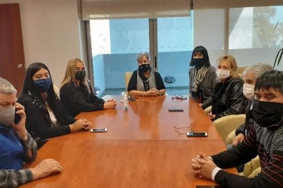 Reunión de los diputados del interbloque.
