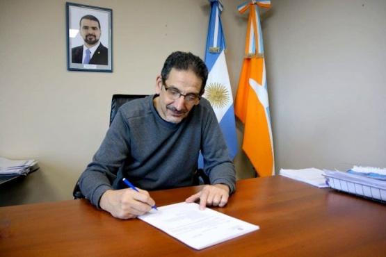 El secretario de Economía y Finanzas, Gustavo Rodríguez.