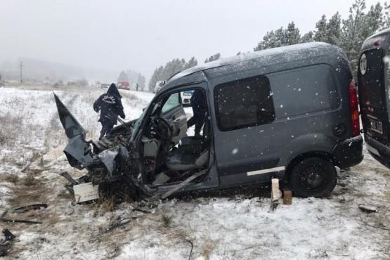 Choque frontal en la Ruta Nacional 259