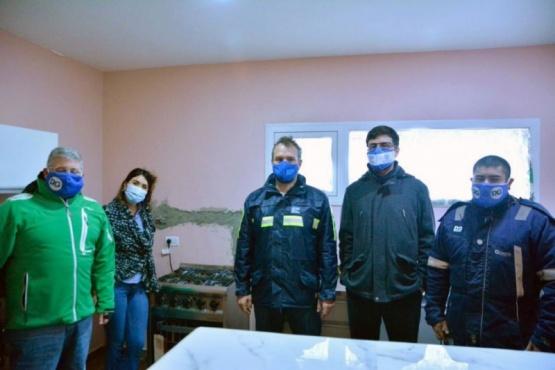 Articularon acciones para proveer de gas a familias del Barrio Patagonia