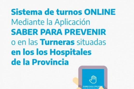 Implementan una APP de turnos online en toda la provincia