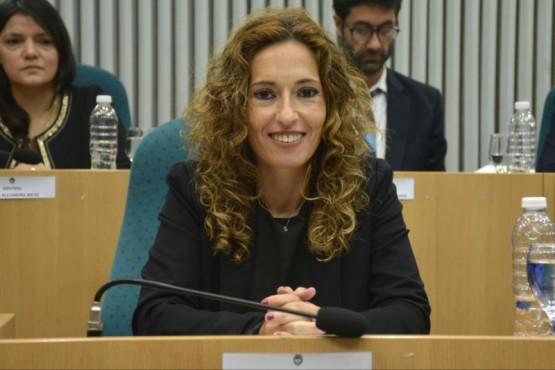 La diputada provincial Rocío García