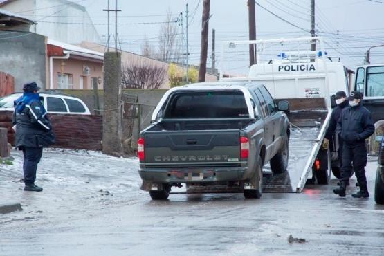 De la casa se secuestró una camioneta Chevrolet S10. (Foto: C.G.)