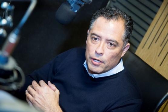 Quiroga en Tiempo FM.