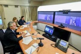 El Presidente realizó una videoconferencia con la ministra de Finlandia, Sanna Marin