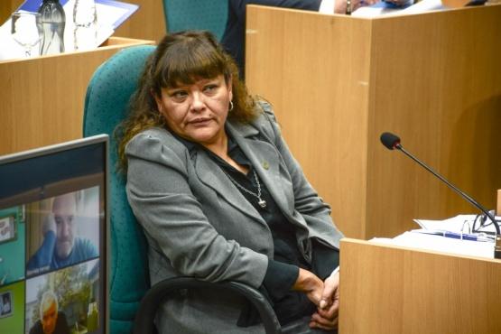 Diputada por el Pueblo de Caleta Olivia, Liliana Toro