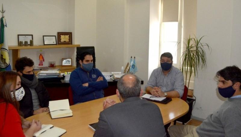 Biss, junto a Provincia, analizó proyectos de planificación urbana y territorial