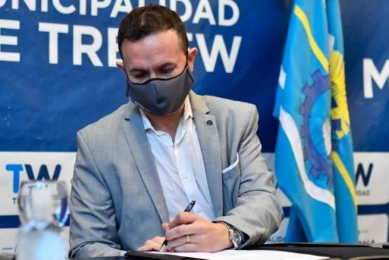 El intendente Maderna entregó más parcelas productivas