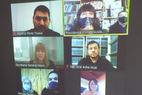 El Consejo de Educación sesionó de manera virtual en el marco de la pandemia