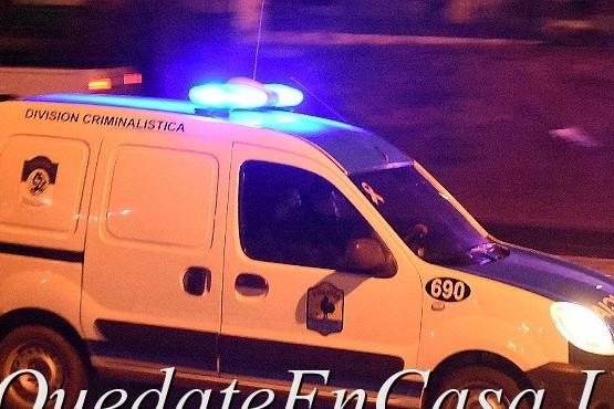 Móvil División Criminalística