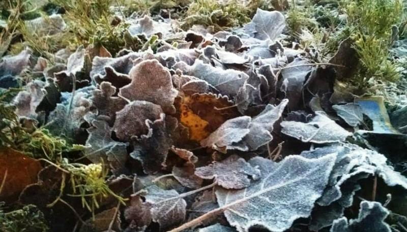 Frío otoñal en la provincia.