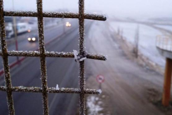 Santa Cruz bajo cero: temperatura de -18.8°C en Perito Moreno