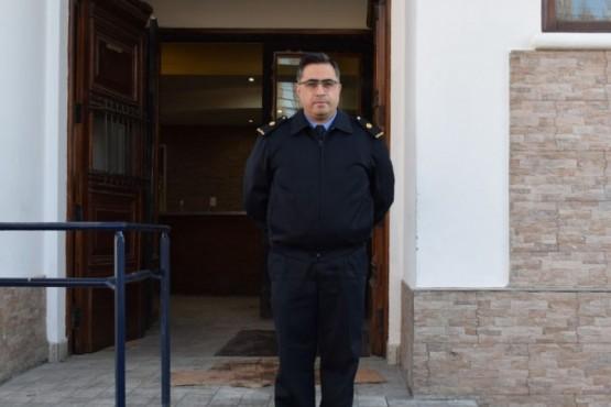 Director General de Bienestar Policial, Comisario Inspector Martín Aguirre