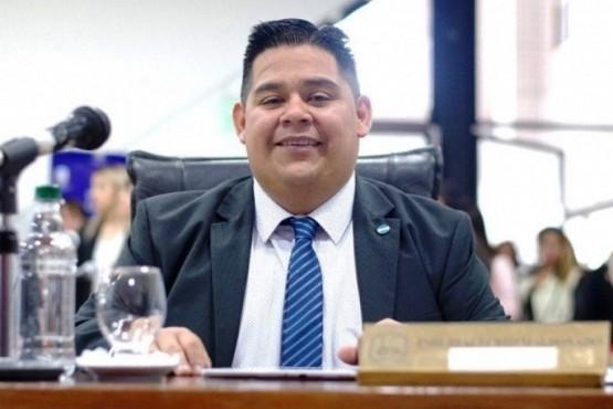 El Presidente del Concejo Deliberante, Emilio Maldonado.