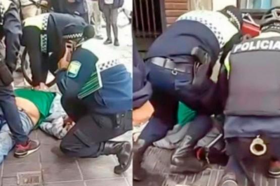 Un hombre murió asfixiado cuando era detenido por la policía