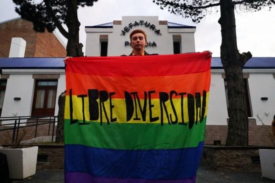 Javier Astorga, de la comunidad LGBTQ en Río Gallegos.