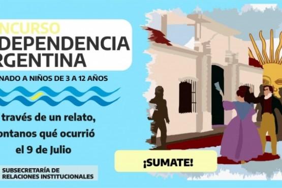 """Lanzan el concurso """"Independencia Argentina, mi cuento en un video"""""""