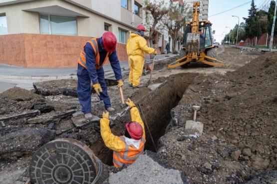 La reconstrucción de Avenida Rivadavia avanza en los plazos establecidos